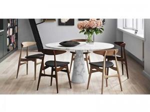Agapecasa Eros runder Tisch aus Marmor