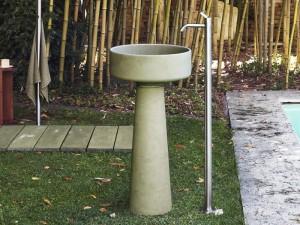 Agape Outdoor Bjhon 1 freistehendes Waschbecken ACER1081E