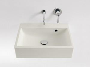 Agape Block eingestelltes Waschbecken ohne Loch für Armaturen ACER720M0RZ
