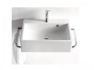 Agape Block eingestelltes Waschbecken mit 1 Loch für Armaturen ACER720M1RZ