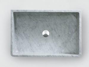 Agape Outdoor Carrara Unterstüzung Waschbecken ACER0730EPPG
