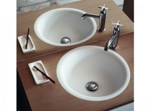 Agape In-Out Einbau Waschbecken ACER1061IZ