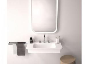 Agape Novecento XL eingestelltes Waschbecken oder mit Unterstützung ACER10703R