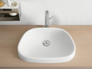 Agape Pear Halber Einbau Waschbecken ACER0719Z