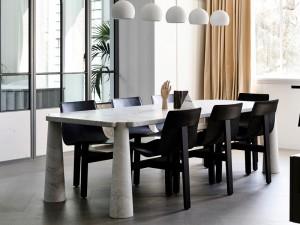 Agapecasa Eros Esszimmertisch aus Marmor