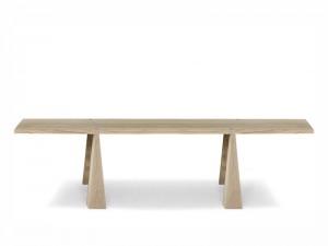Agapecasa Incas Esszimmertisch aus Holz mit 4 Unterstützungen.