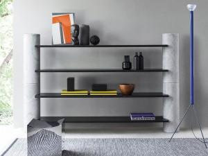 Agapecasa Loico Zusammensetzung Bücherregal aus Marmor ALIC