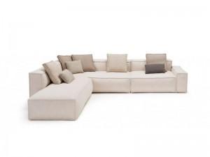 Amura Davis zusammensetzbares Sofa aus Gewebe DAVIS021.213.022
