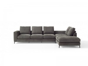 Amura Dorsey zusammensetzbares Sofa aus Leder DORSEY031.052