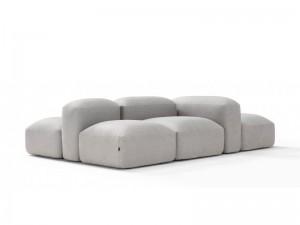 Amura Lapis zusammensetzbares Sofa aus Gewebe LAPIS.E009