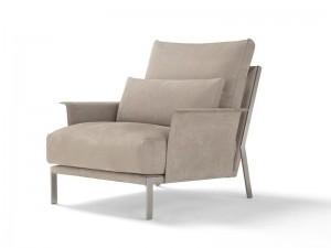 Amura New Link Sessel aus Leder NEWLINK013H.876