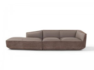 Amura Panis Sofa aus Leder PANIS032.057