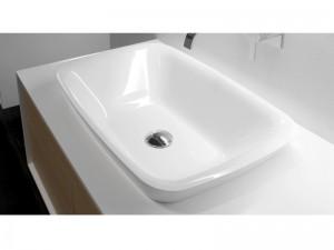 Antonio Lupi Einbau Waschbecken aus Ceramilux BULBO