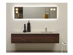 Antonio Lupi Panta Rei Möbel Zusammensetzung für das Badezimmer PANTA-REI