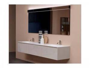 Antonio Lupi Piana Möbel Zusammensetzung für das Badezimmer PIANA
