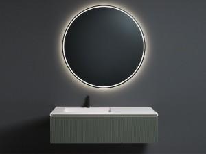 Antonio Lupi Albore runder Spiegel mit weißem Led ALBORE72W