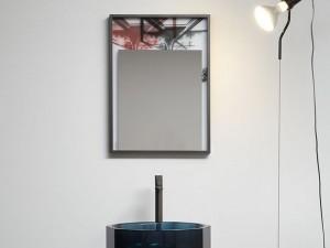 Antonio Lupi Collage Spiegel mit Abdruck COLLAGE350