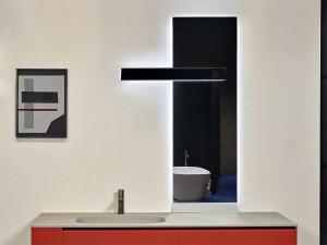 Antonio Lupi Neuluce Spiegel rechteckig mit Led weiß NEULUCE1