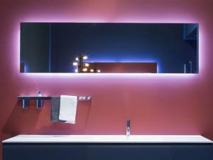 Antonio Lupi Vario Spiegel rechteckig mit Led weiß VARIO50W