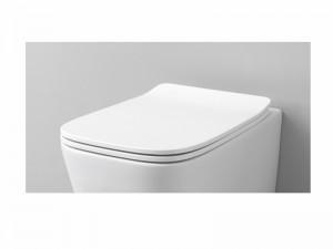 Artceram A16 kleiner verzögerter Toilettendeckel weiß und matt ASA00205