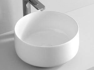 Artceram Cognac35 Waschbecken mit Unterstützung weiß und matt COL00405