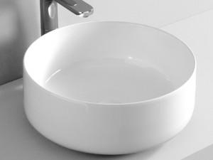 Artceram Cognac42 Waschbecken mit Unterstützung weiß und matt COL00105
