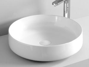Artceram Cognac48 Waschbecken mit Unterstützung weiß und matt COL00205