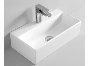 Artceram Quadro 27 eingestellter Waschbecken oder mit Unterstützung QUL001