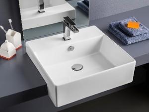 Artceram Quadro 50 eingestellter Waschbecken QUL004