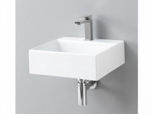 Artceram Quadro 40 eingestellter Waschbecken oder mit Unterstützung QUL005