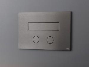 Cea Hydroplate Befehlsplatte für Toilette mit zwei Knöpfe mit einziehbarer hygienischer Brause. cod. PLA05