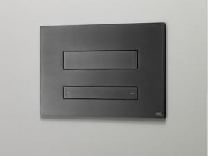 Cea Hydroplate Befehlsplatte für Toilette doppelten Knopf mit einziehbarer hygienischer Brause. cod. PLA06