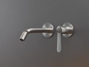 Cea Lutezia Plus Bidet oder Waschbeckenarmatur 2 Löchern an der Wand mit verstellbarer Öffnung LTZ25