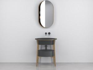 Cielo Catino Ovale Waschbecken Möbelstück