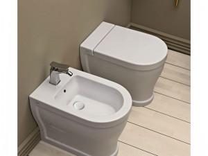 Cielo Opera Tondo Sanitären am Boden, Toilette, Bidet und Toiletten Deckel