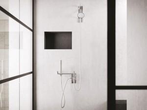 Dueacca Kit 09 Indoor Duscharmatur mit Kopfbrause und Handbrause 4110098101