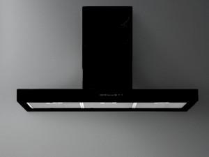 Falmec Design Wandhaube oder Inselhaube PLANE BLACK