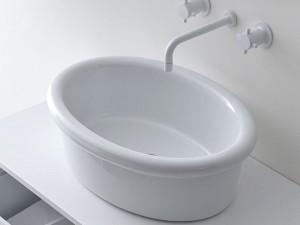 Falper Cocò lavabo da appoggio DWH