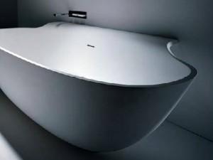 Falper Scoop coppia fianchi di copertura per vasca da bagno D4W