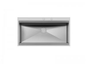 Foster Milano Spülbecken Küche aus Stahl 1018 050