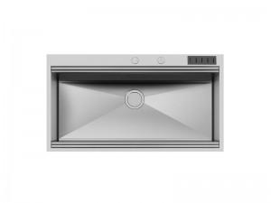 Foster Milano Spülbecken Küche aus Stahl 1018 055