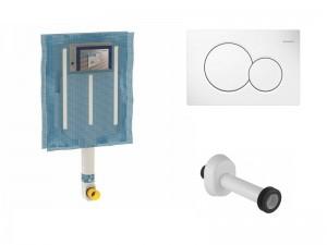 Geberit Einbau Kasten Kit und Ableitung Platte für Sanitären