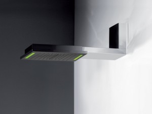 Gessi Colour multifunktionale Kopfbrause an der Wand 57935