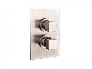 Gessi Rettangolo Thermostat Duschmischer mit Umleitung 20132.031