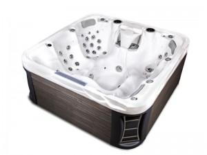 Hafro Peakline Discovery Mini-Pool und Jacuzzi freistehend outdoor 8WM00543