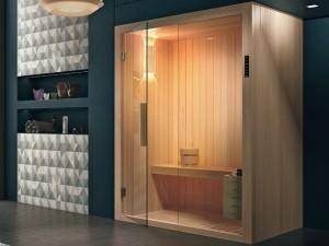 Hafro Kyra eckige Sauna SKY10036-1S006