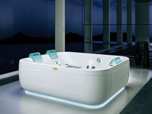 Jacuzzi Aquasoul Extra freistehende Whirlpool Badewanne AQU70010748