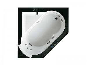 Jacuzzi Aura Corner 140 Stone Whirlpool Badewanne mit Einbau 9F43811