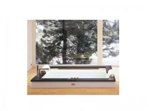 Jacuzzi Aura Plus Stone Whirlpool Badewanne mit Einbau 9H43507
