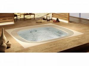 Jacuzzi Enjoy kleiner Schwimmbecken Jacuzzi mit Einbau indoor und outdoor 9445-02352